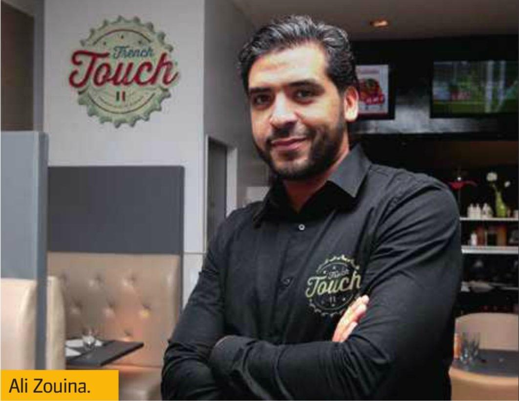 Ali Zouina, la R&D du hamburger