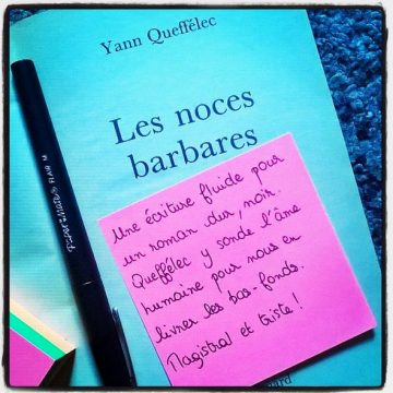 Book-it#5: « Les noces barbares »