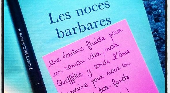 Book-it#5: «Les noces barbares»