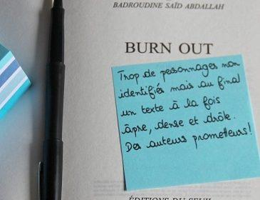 Book-it #3 «Burn out» (M.Meklat & B.Saïd Abdallah)