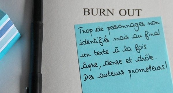 Book-it #3 « Burn out » (M.Meklat & B.Saïd Abdallah)