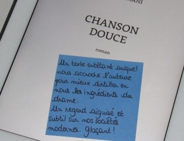 Book-it #6: «Chanson douce» de Leïla Slimani, Goncourt 2016!