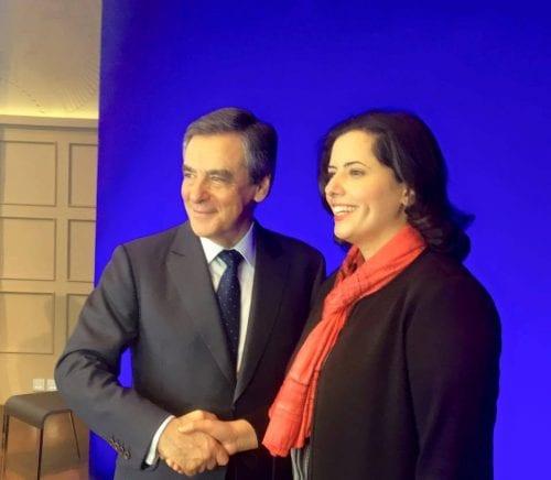 Hayette Hamidi et Fillon MB