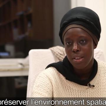 Fatoumata Kebe, «space girl» devenue docteure en astronomie