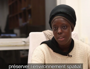 Fatoumata Kebe, « space girl » devenue docteure en astronomie