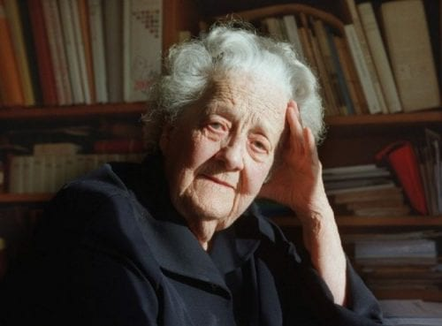Germaine Tillion, résistante, femme de lettres et ethnologue française.