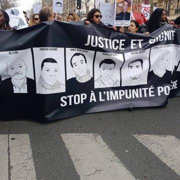Marcher contre l'injustice et l'impunité