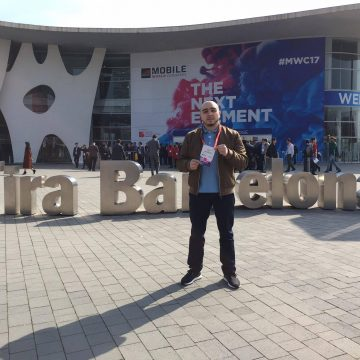 Lamine Talakela raconte son Mobile World Congress de Barcelone.