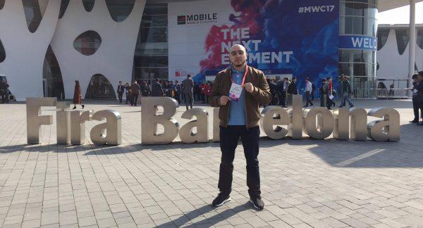 Lamine Talakela raconte son Mobile World Congress de Barcelone.