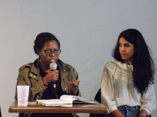 Diariatou Kebé et Fatima Ouassak, militante et organisatrices du Front des mères