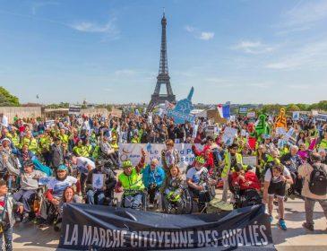 Handicap: une marche pour politiser la question