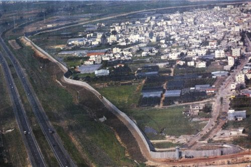 Qalqilya en Cisjordanie (photo/artistes contre le mur)