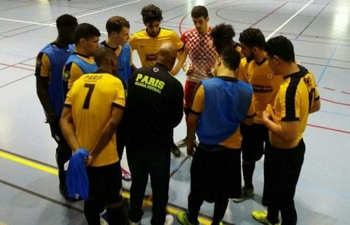 L'équipe Acasa lors d'une compétition.