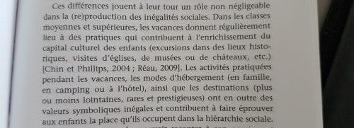 Extrait, La sociologie des enfants, p 83