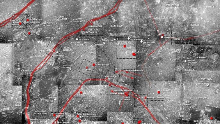 Chrono-cartographie du Massacre des Algériens à Paris le 17 octobre 1961