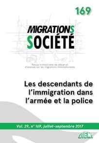 """""""Les descendants de l'immigration dans l'armée et la police"""", sous la direction d'El Yamine Settoul, Migrations et société, n°169"""