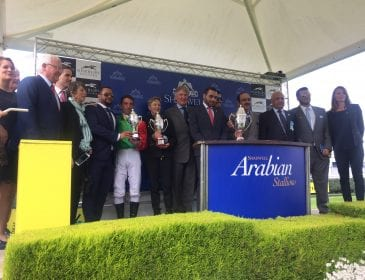 How the Royal Ascot of Purebred Arabian racing featured a horse racing Queen