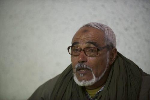 Wali Abeida Cheikh, « gouverneur » du camp de réfugiés de Smara