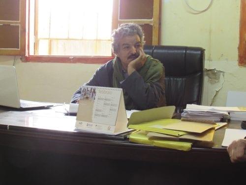 Mohamed Mouloud, ministre de l'Education de la RASD