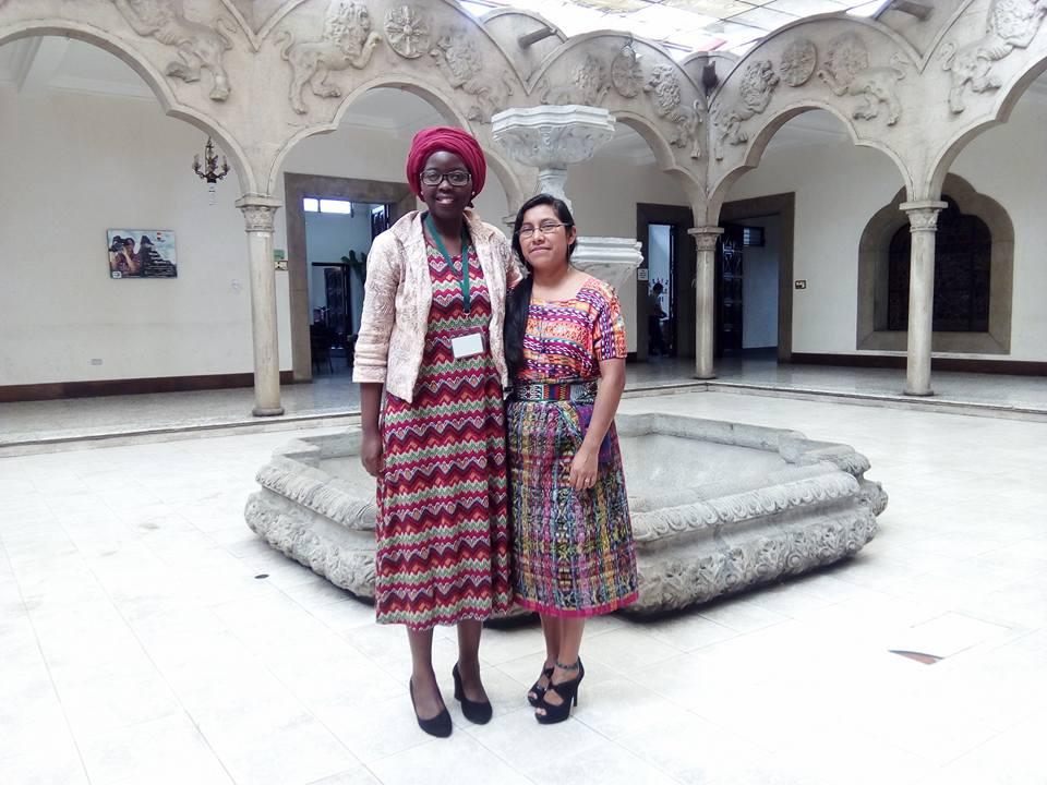 Soutien à l'Academie des langues mayas Guatemala, en août 2017.