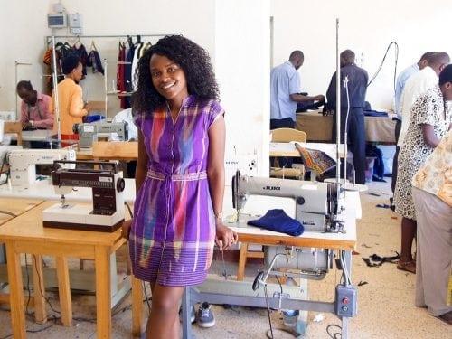 Joselyne Umutowinase Rwanda Clonthing DR