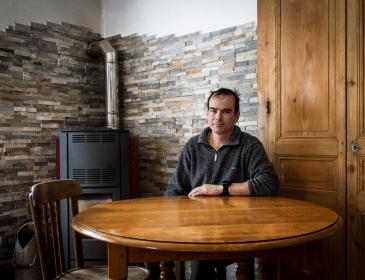 Migrants: La solidarité des citoyens de Névache: Olivier (2/7)
