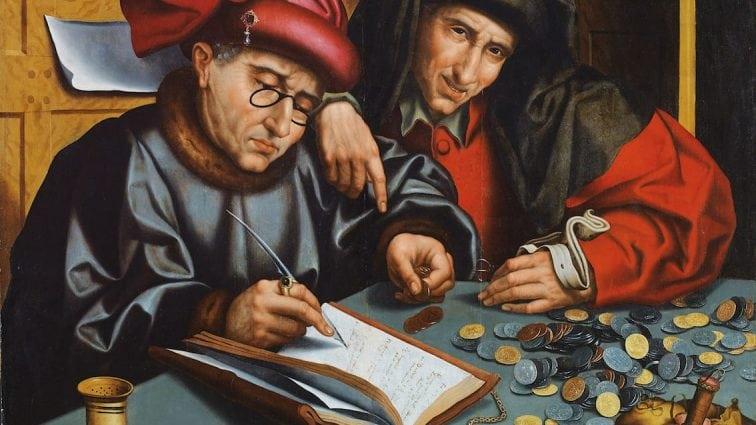Le paysan, le boulanger et le banquier