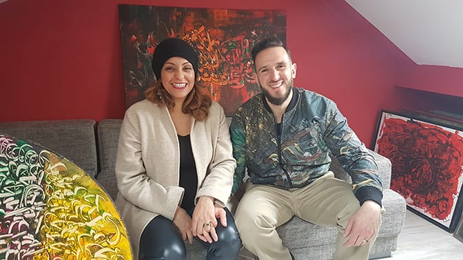 Anissa Lalahoum : «Ma peinture réunit vraiment les gens»