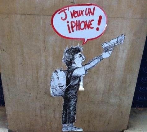 Téléphone portable à l'école : une belle diversion