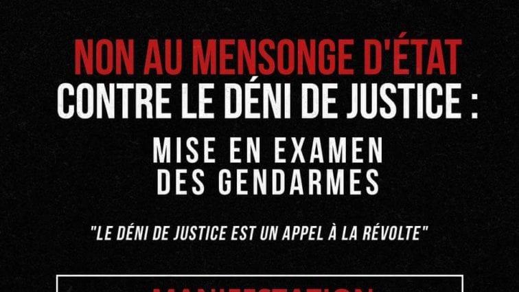 #JusticepourAdama Marche parisienne à 14h30