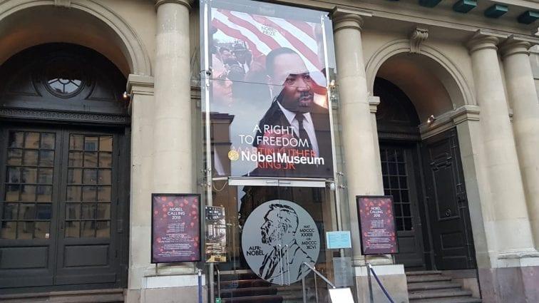 À Stockholm, Martin Luther King, un droit à la liberté