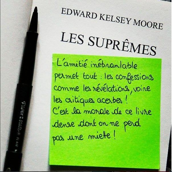Book It Les Suprêmes Edward Kelsey Moore Meltingbook
