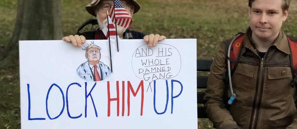 Trump, «enfermez-le !»
